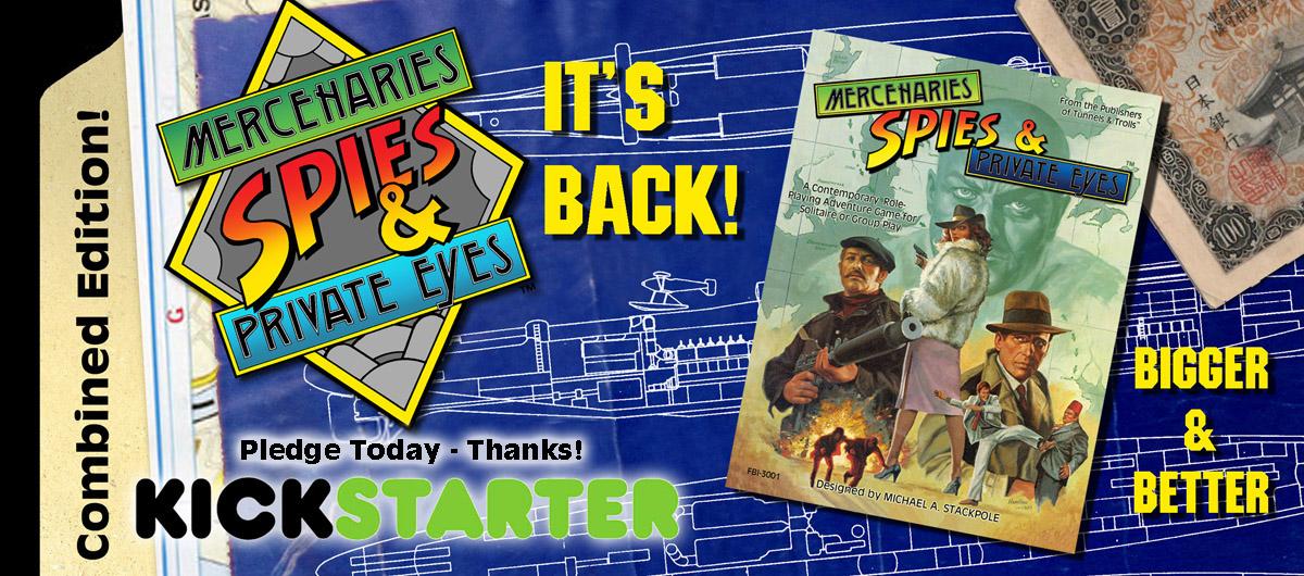 MSPE Kickstarter banner